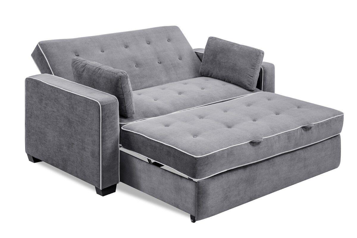 Evan Convertible Sleeper Sofa Upholstery Best Sleeper Sofa