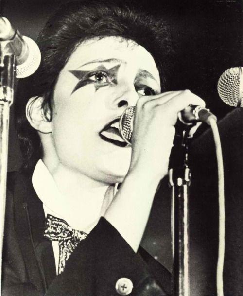 I Loved Her Post Punk 1970s Makeup She