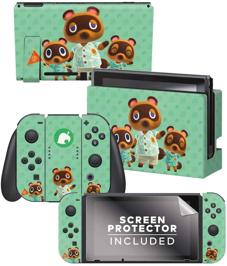 Amazon Com Controller Gear Authentic And Officially Licensed Animal Crossing New Horizons Tom Nook Te In 2020 With Images Animal Crossing Nintendo Switch New Animal Crossing
