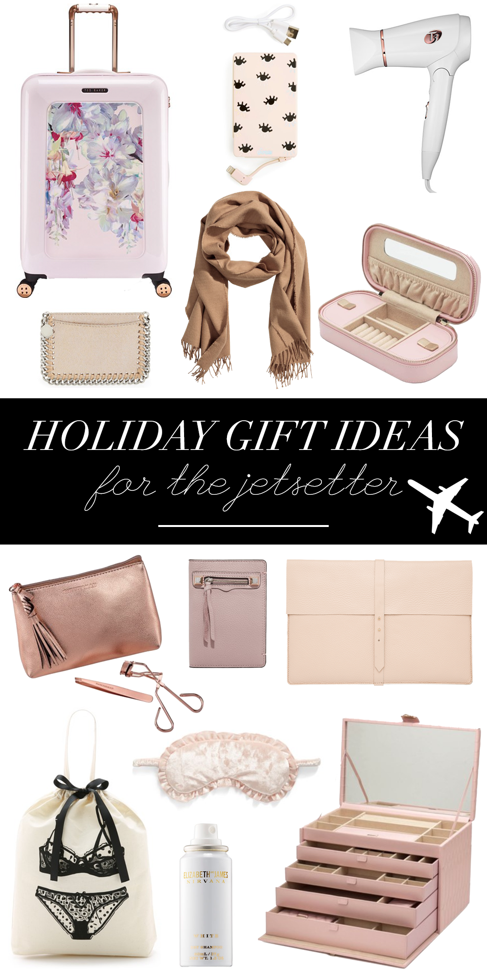 Holiday Gifts For Her Part - 36: Holiday Gift Ideas, Christmas Gifts, Gift Guide, Holiday Gift Guide, Travel  Essentials