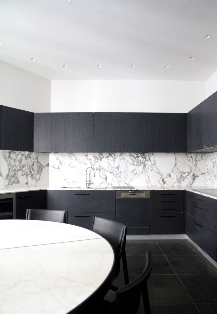 black white kitchen dark cabinets with grey veined marble as black white kitchen dark cabinets with grey veined marble as backsplash black floor