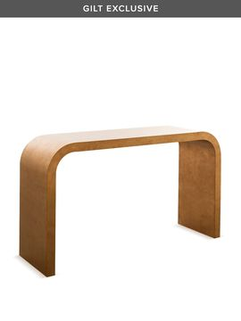 Waterfall Console Table from Shine by S.H.O