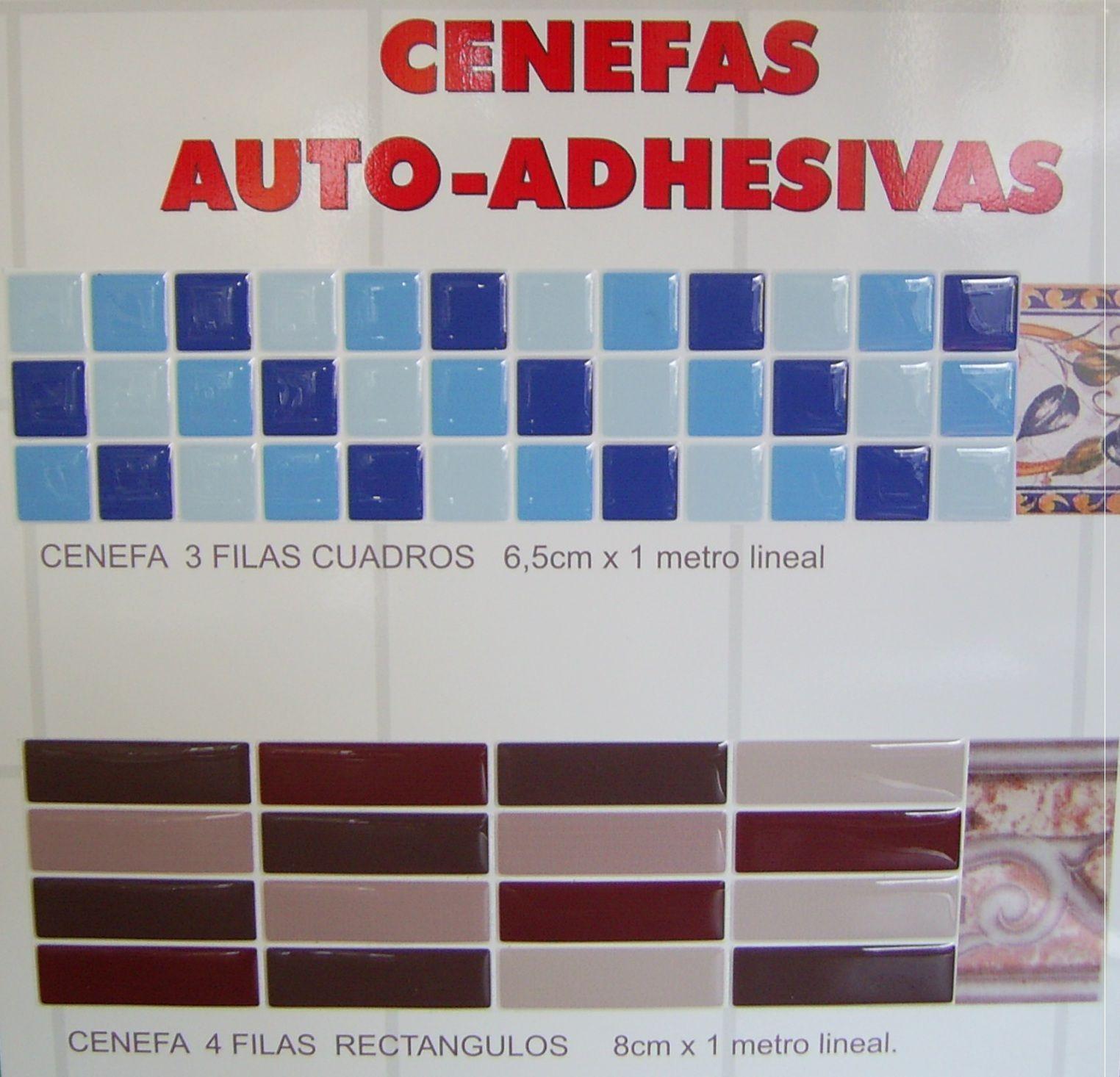 CENEFAS ADHESIVAS PARA COCINAS Y BAÑOS | Decoració | Pinterest ...