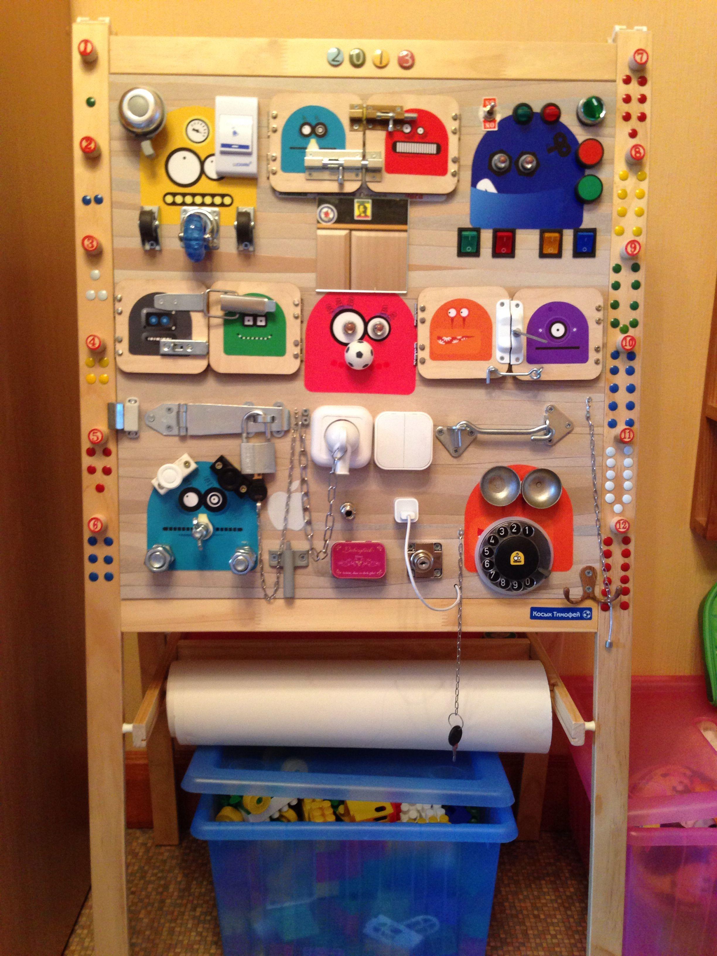Busy Board Bizibord Busy Board Busy Boards For Toddlers Diy