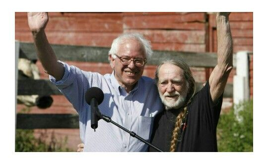 Bernie and Willie!!! Write your own songs, mr. record executive