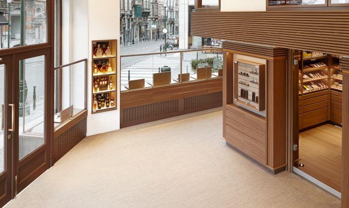 Davidoff Cigars flagship store by ARNO Brussels Belgium 03 Davidoff