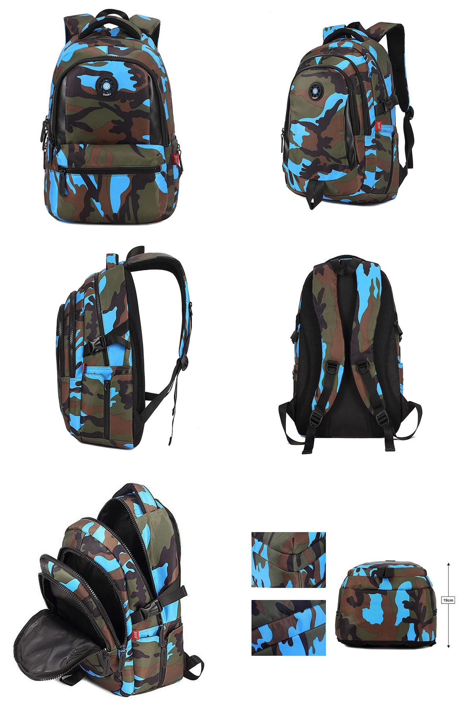 d1c1973510b6  Visit to Buy  Small Size Fashion Camouflage Kid Backpack Bag School Bags  Travel Backpack