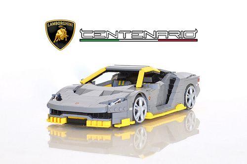 Lamborghini Aventador Lego Cars Lego Truck Lego
