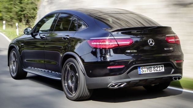 Mercedes Amg Glc43 Coupe Low Slung Sports Suv