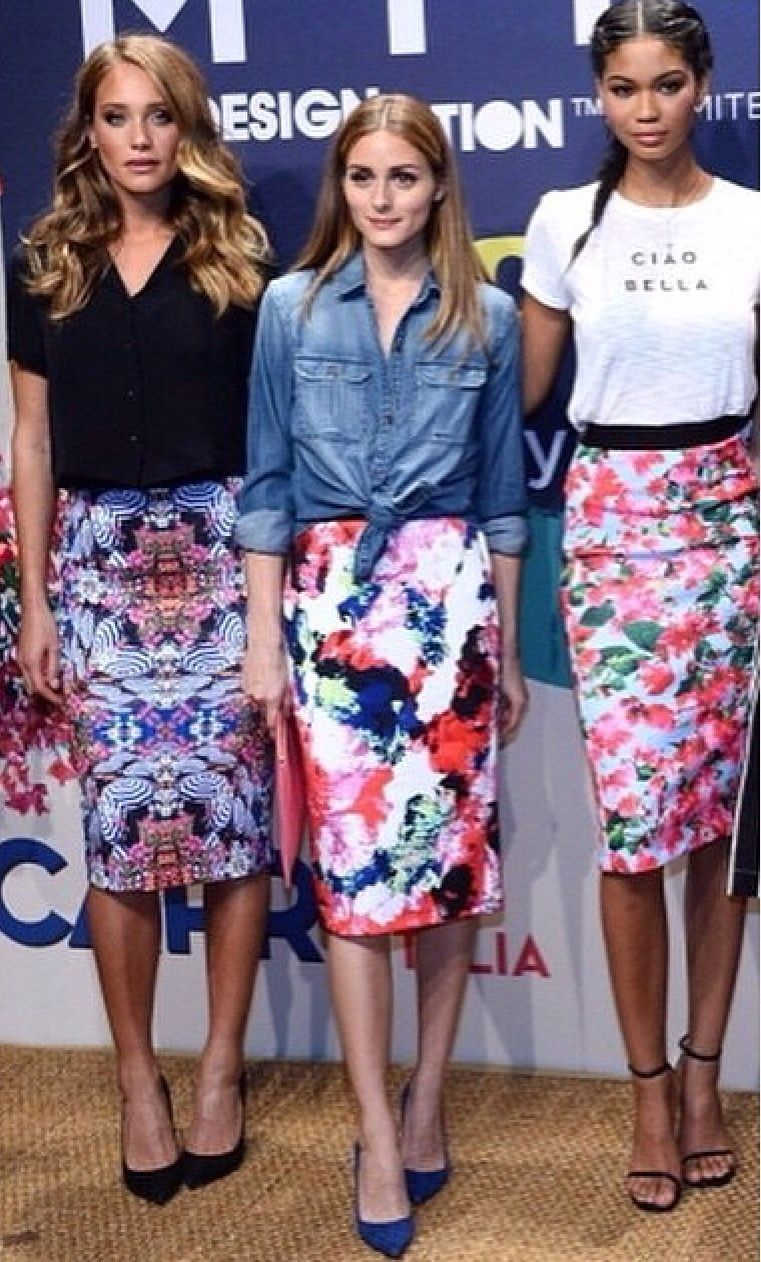 edd21c69e Found this floral pencil skirt at Newgen, and i have to get it ...