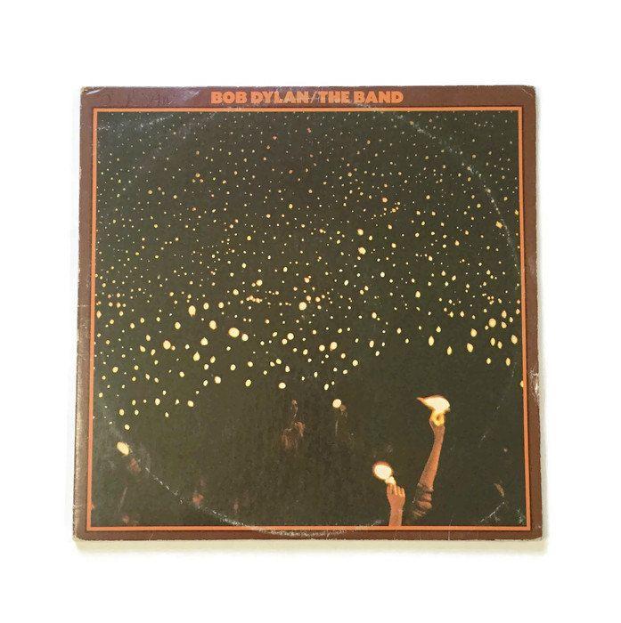 Bob Dylan The Band Quot Before The Flood Quot Vinyl Record Album Classic Rock Lp Live Double Album Robbi Bob Dylan Vinyl Record Album Before The Flood
