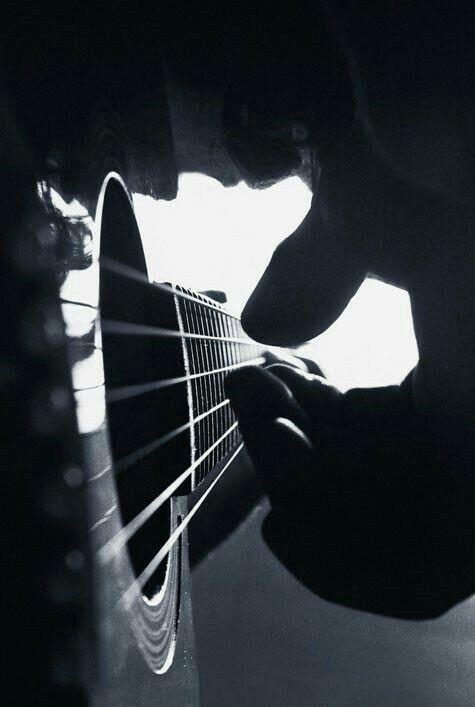Tocando Violao Foto Musica Fotografía De Músico Y