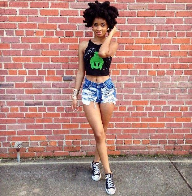 Modern Urban Black Girl: Beautiful Black Girl, Types Of Fashion
