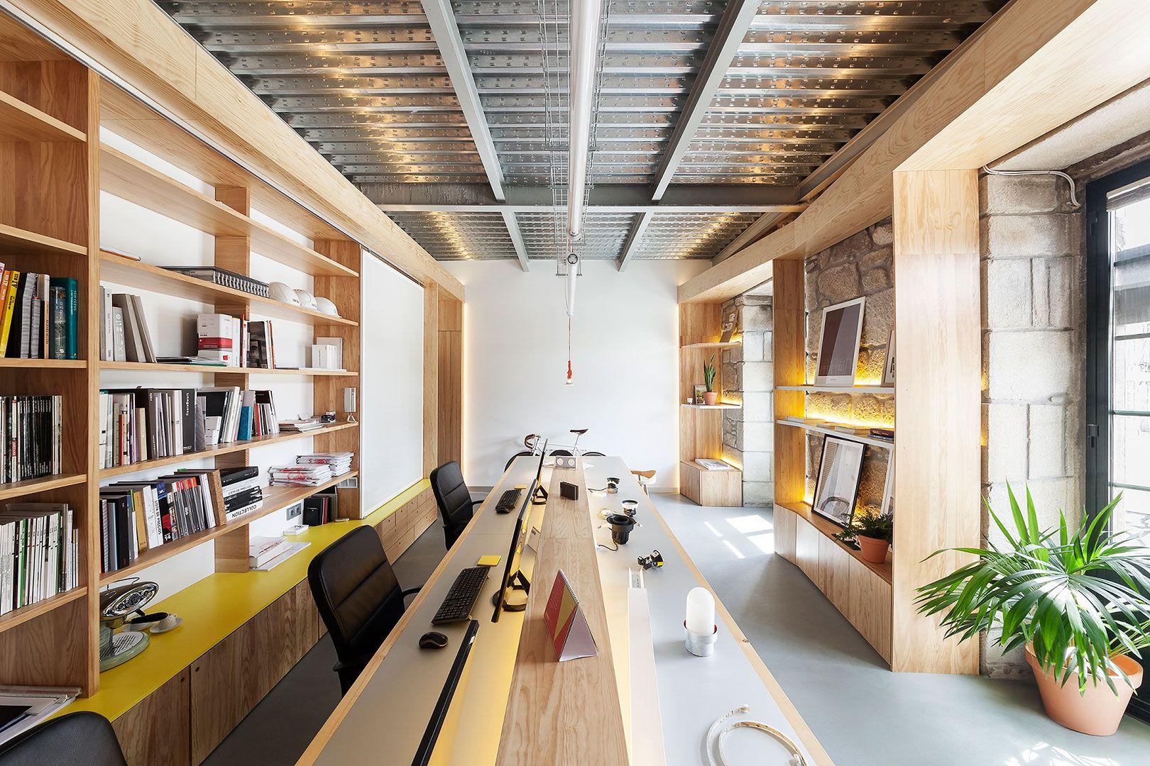 Proyecto nuevas oficinas localizaci n a o 2016 mobiliario nancontract reportaje en - Oficina de empleo pontevedra ...