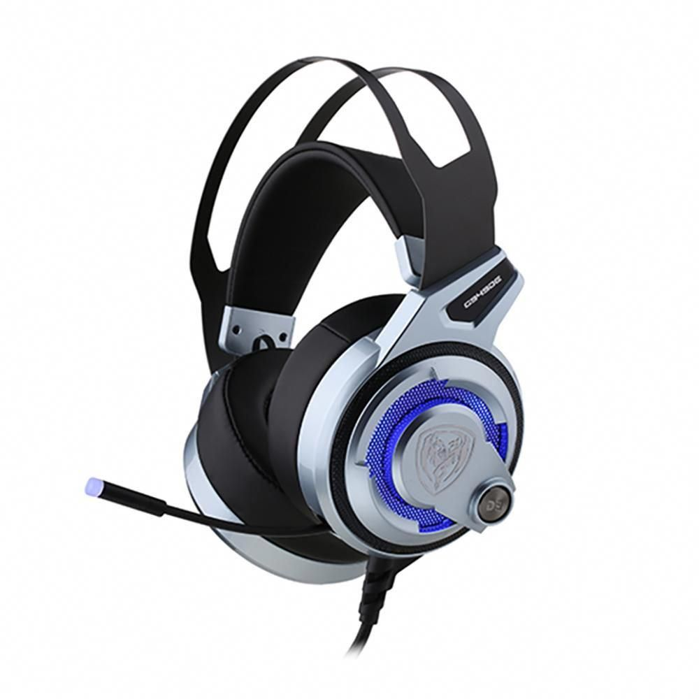 SOMiC G949DE, PC & PS4 Gaming Headset, 7 1 Surround Sound