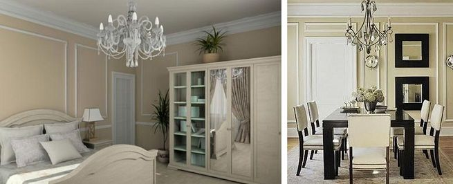 Molduras o listones para decorar las paredes interior - Molduras para paredes interiores ...