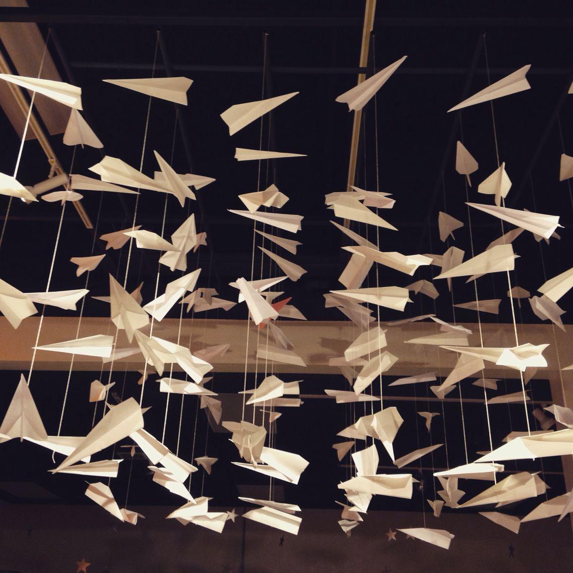 Discovery center boise ceiling lights inspiration light