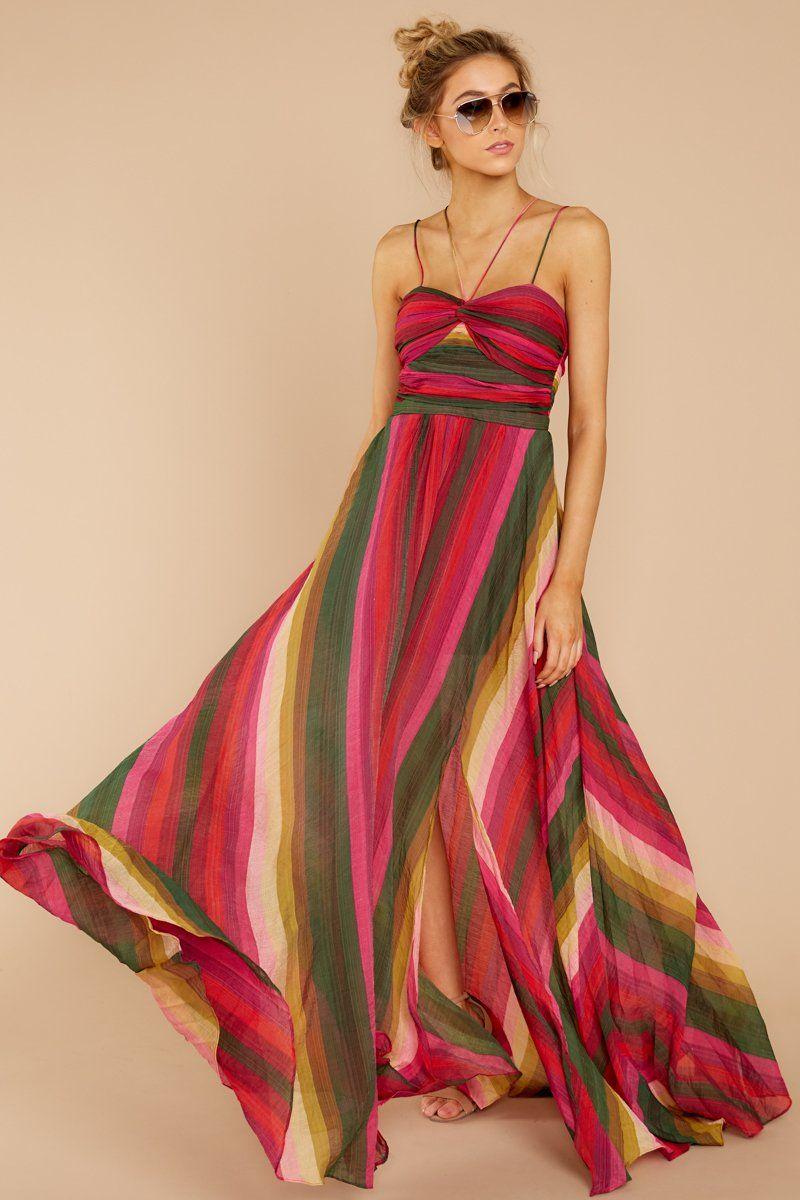 Chic Pink Multi Stripe Maxi Dress Rainbow Stripe Maxi Dress 78 Red Dress Boutique Maxi Dress Party Best Maxi Dresses Maxi Dress [ 1200 x 800 Pixel ]