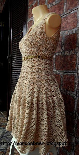 Crochet Dress Karen Millen Crochet Summer Baby Dress Pattern Free