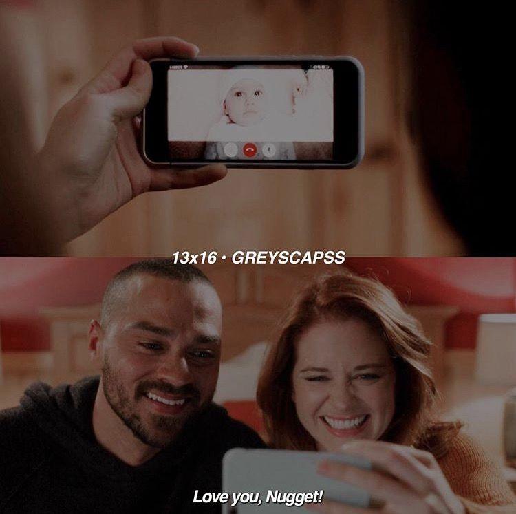 Grey\'s Anatomy 13x16 Jackson & April facetiming Harriet | Grey\'s ...