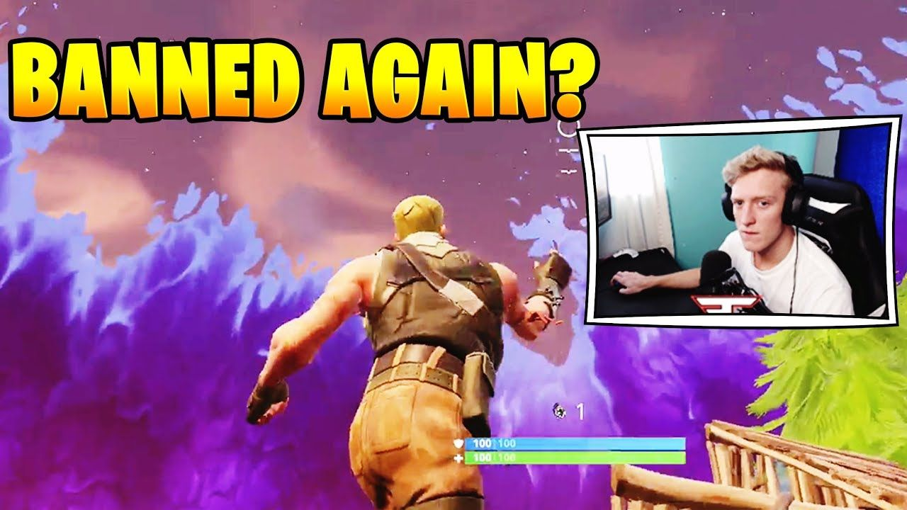 Tfue Will Get Banned Again For C4 Exploit Fortnite Fortnitefunny