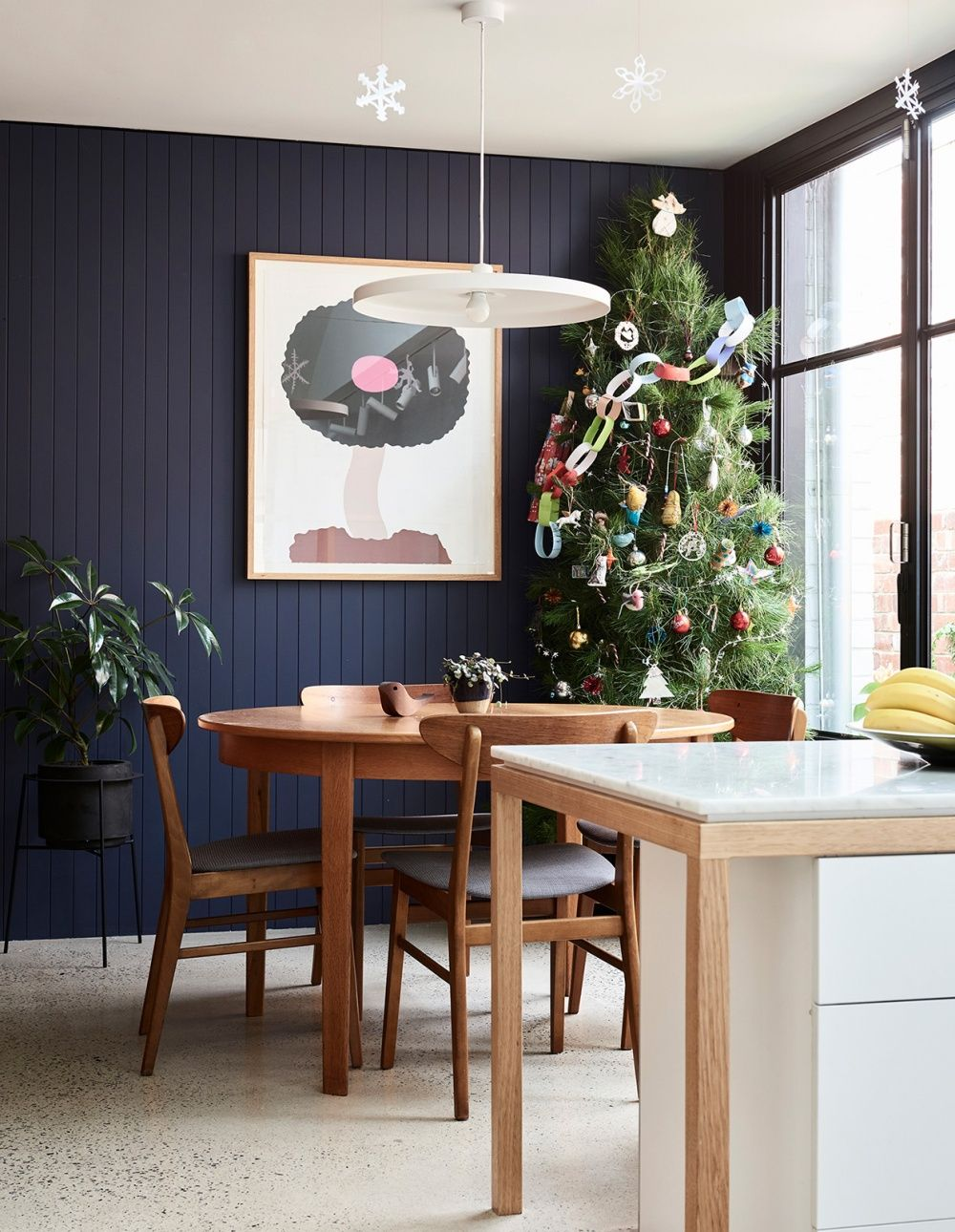 A Creative and Cosy Northcote Family Home   Feature wall ...