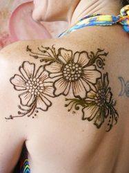 Henna Shoulder Tattoo Henna By Erika Ryn Henna Tattoos Henna Art