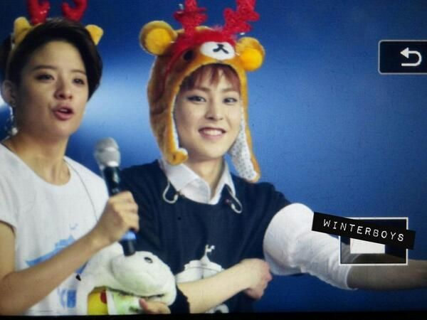 Image result for Amber and xiumin