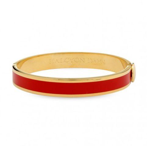 Kollektion: Plain ⦁ Produktart: Armreif  ⦁ Material: Messing, vergoldet mit 750/- Gelbgold ⦁ Breite: 1 cm ⦁ Referenz: 201/PH005