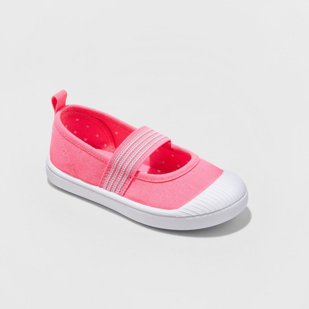 d25ba6a77720 Introduce her to chic casual style with the Bea Mary Jane Sneakers from Cat  and Jack. A quick and easy accessory to slip on these girls  Mary Jane  sneakers ...