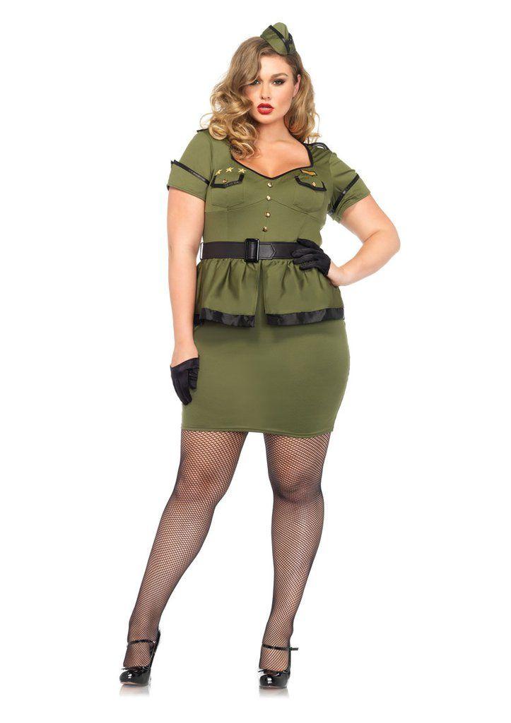 LA85427X Sexy Leg Avenue Commander Cutie Fancy Dress Costume Sexy - halloween costume ideas plus size