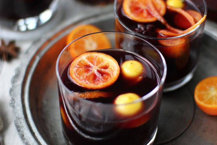 Mulled Wine #recipes #drinks #holidays