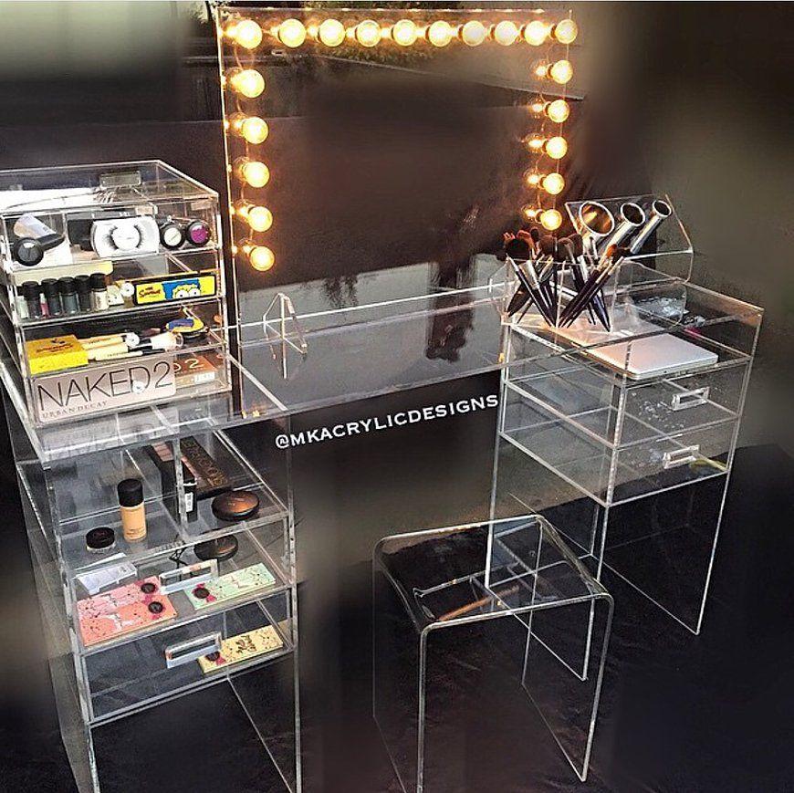 Acrylic makeup Organizer Fabrication & Manufacture