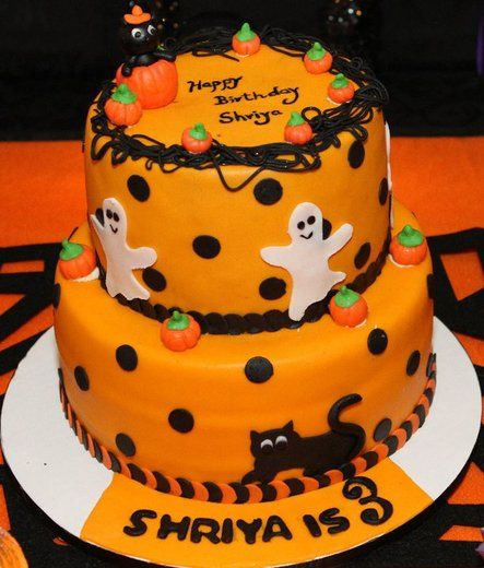 Our Favorite Halloween Desserts Halloween birthday Birthday cake