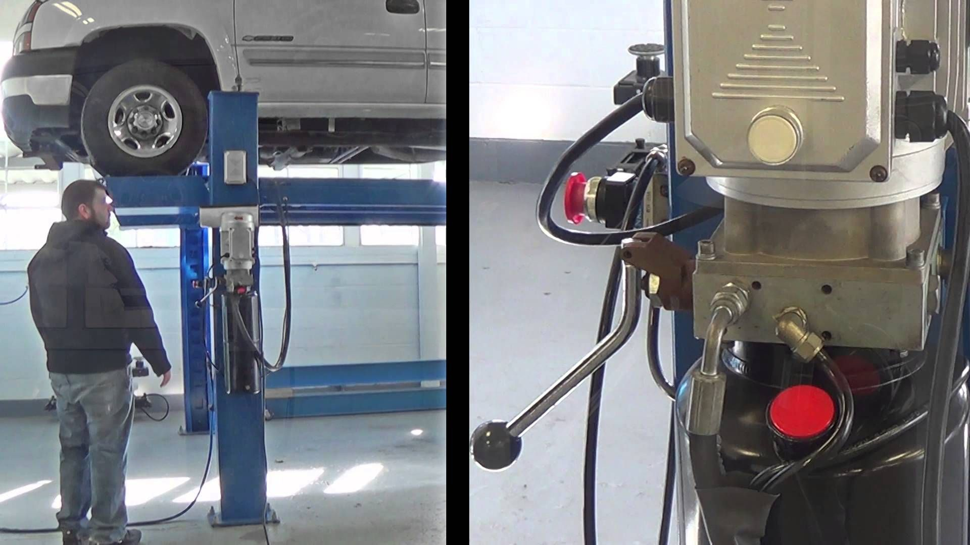 Pin by Greg Smith on Auto Equipment | Four post lift, 4 post