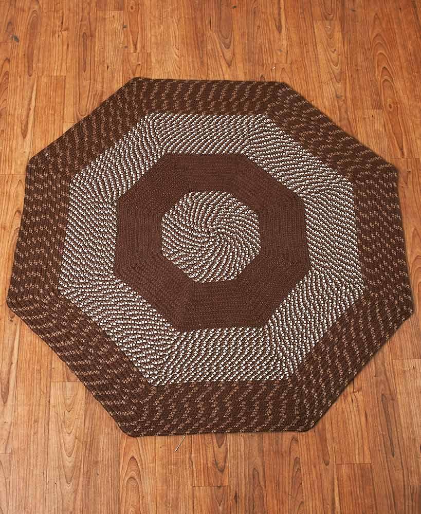 Newport braided octagon rugs octagon rugs rugs octagon