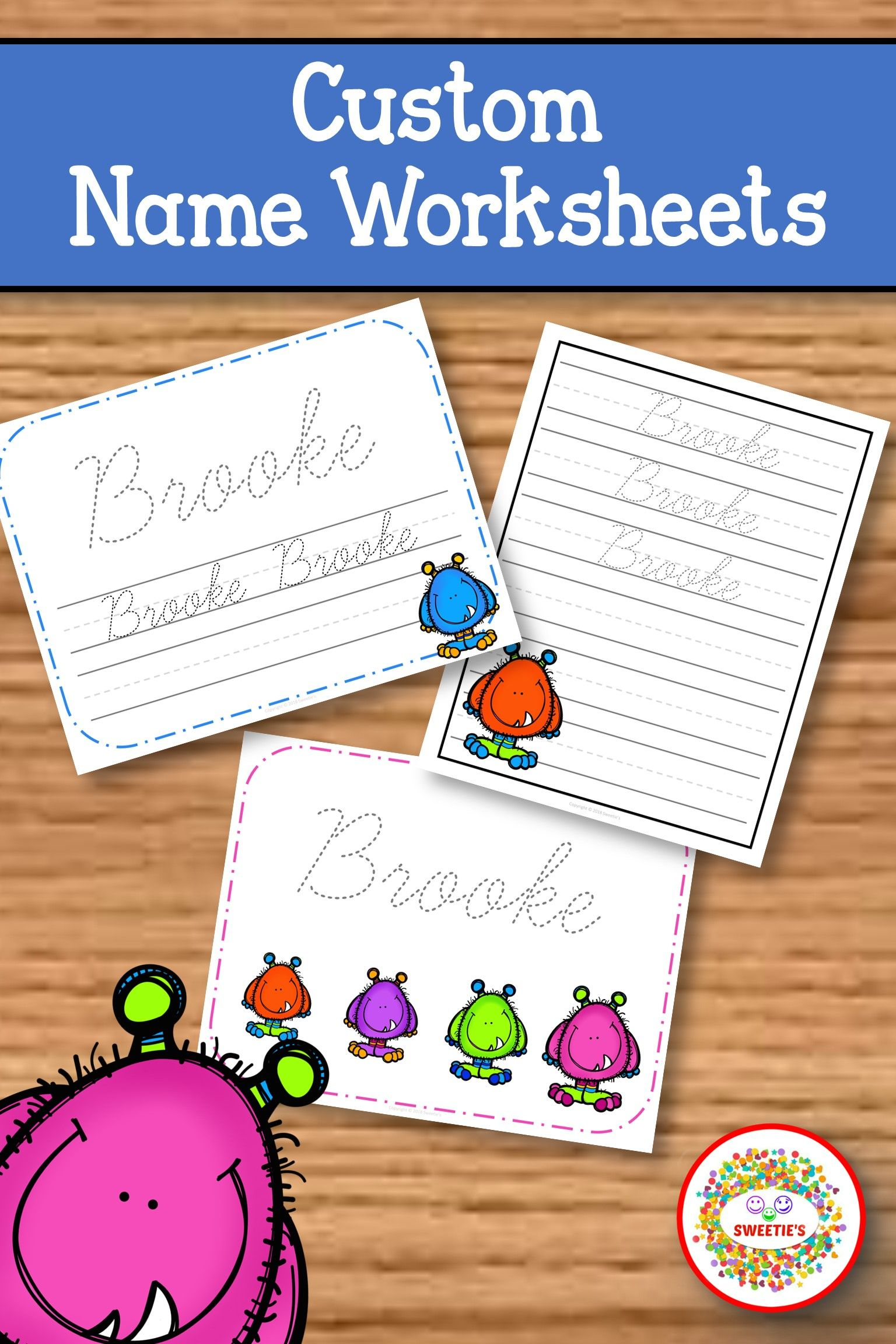 Teach Your Little One To Write His Her Name With These
