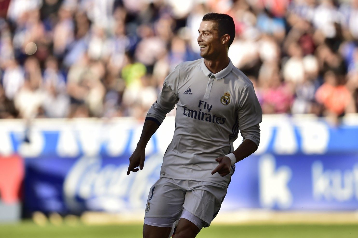 awesome Ronaldo 2 goals shy of 100 in European competitions