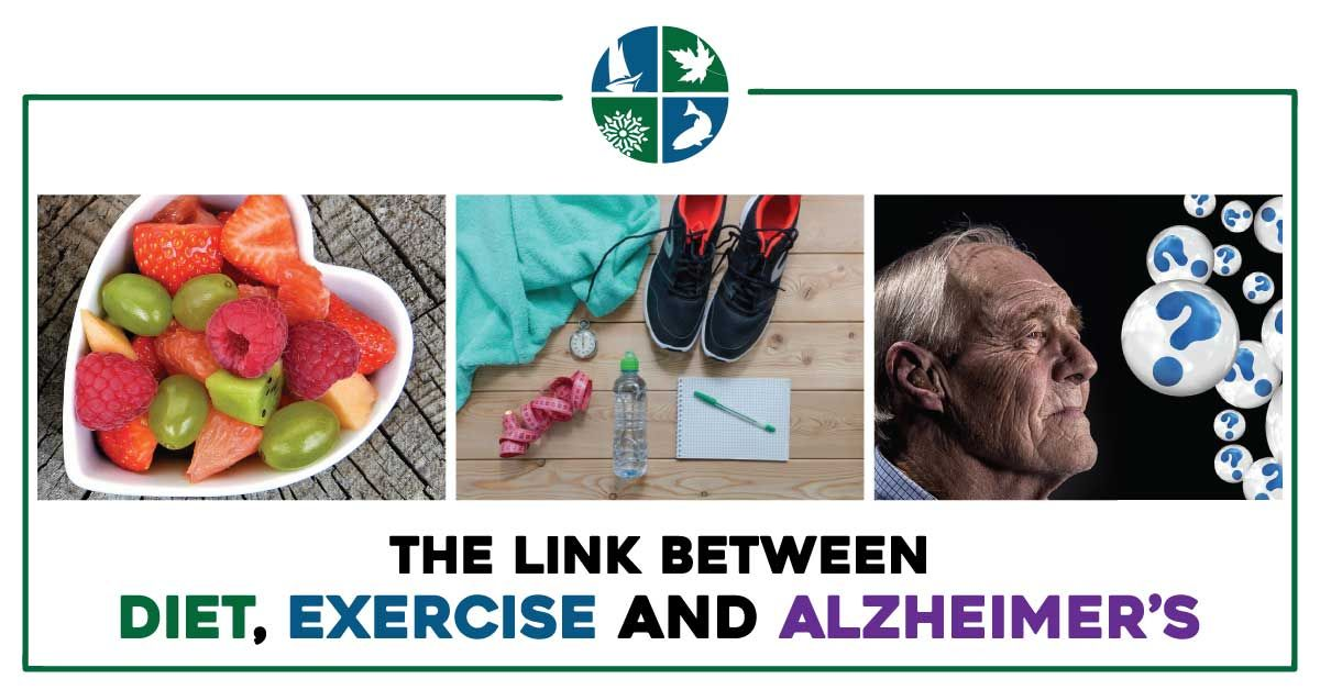 The Link Between Diet, Exercise and Alzheimer's AIM
