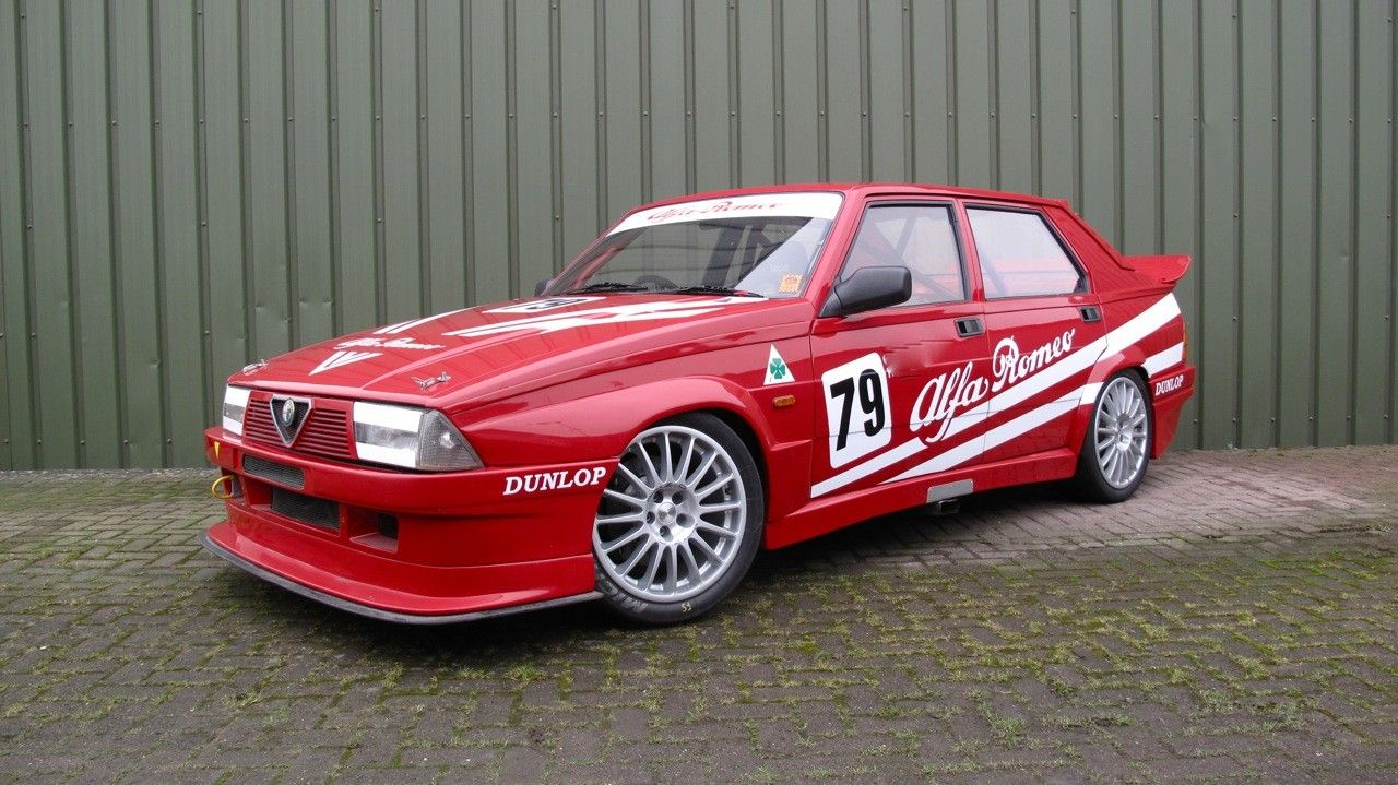 1987 alfa romeo v6 race this is actually a track prepared example of my very first alfa. Black Bedroom Furniture Sets. Home Design Ideas