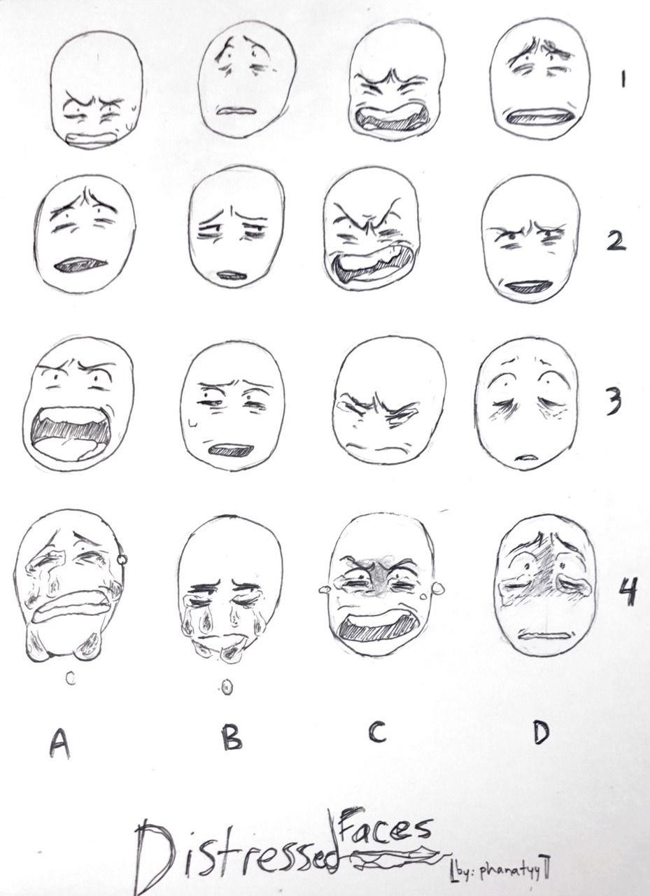 Nakatadraws Made A Distressed Face Meme On Accident Feel Free To Use Also Feel Free T In 2021 Drawing Expressions Face Drawing Reference Different Drawing Styles