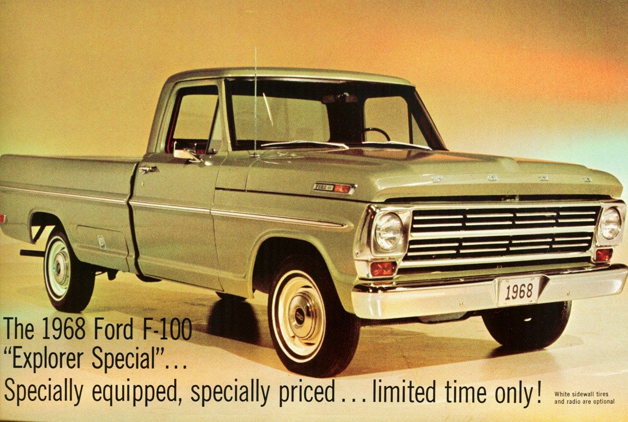 All sizes | 1968 Ford F-100 Explorer Special Pickup | Flickr ...