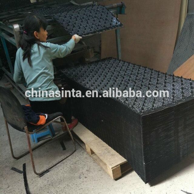 Industrial Water Cooling Tower Fill Plastic Evaporative Cooling