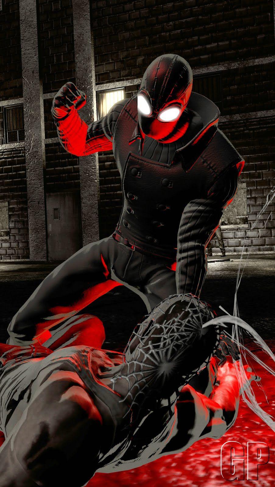 spider-man noir sneaks into death battle!trident346 on deviantart