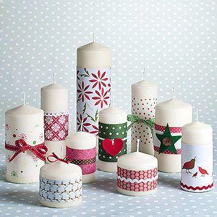 25 Ways To Update Decorate Repurpose Plain Pillar Candles