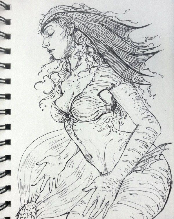 Mermaid Queen by JowieLimArt.deviantart.com on @DeviantArt