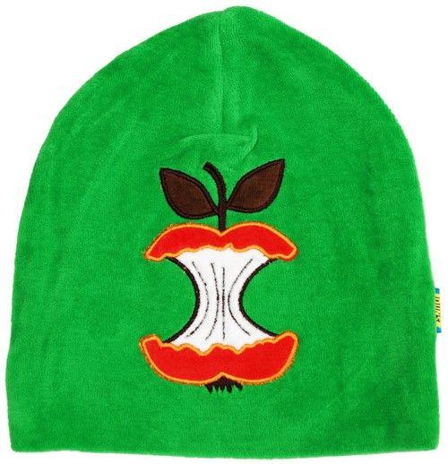 Velourhat| Green Bitten Apple