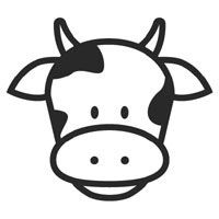 cow face free kids coloring clipart best clipart best cow rh pinterest com cute cow face clipart Cow Face Clip Art Black and White