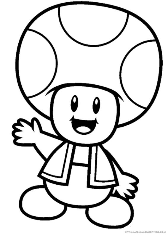 Ausmalbilder Mario_7.jpg | Super Mario | Pinterest | Ausmalbilder ...