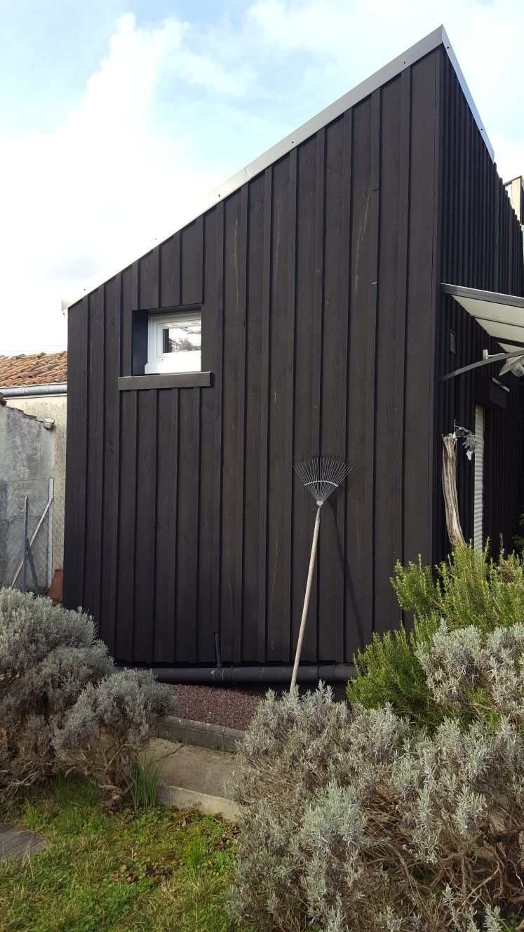 vivanbois bardage douglas et noir de falun bardage. Black Bedroom Furniture Sets. Home Design Ideas